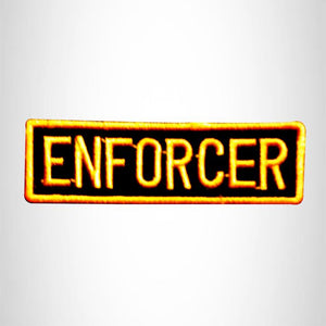 ENFORCER Small Patch Iron on for Vest Jacket SB602