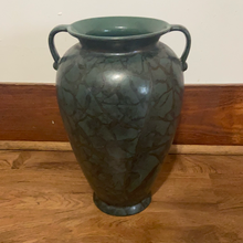 Load image into Gallery viewer, Vintage Scheurich W. Germany Vase, 615-38, Green, Faux Stone Finish