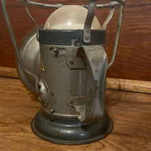 Load image into Gallery viewer, Vintage Delta Powerlite Lantern 6 Volt Handheld Railroad Coal Miner's Flashlight