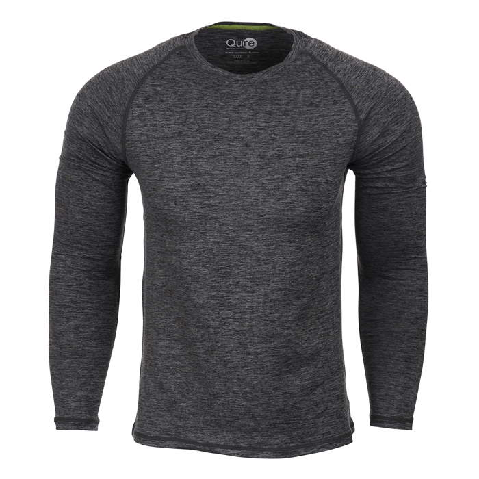 Unisex Long Sleeve Tee - Charcoal