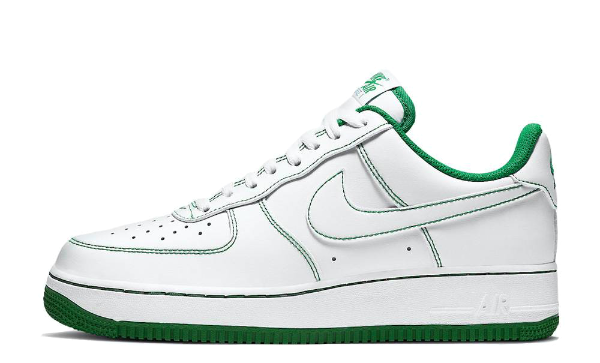 Nike Air Force 1 Low Stitching Green