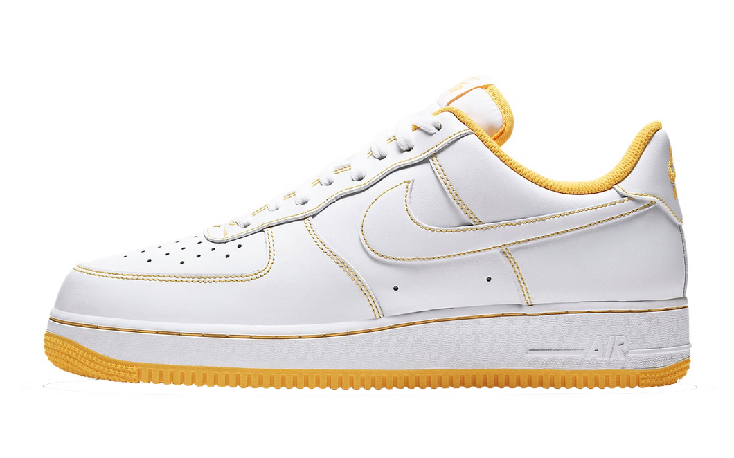 Nike Air Force 1 Low Stitching Laser Yellow