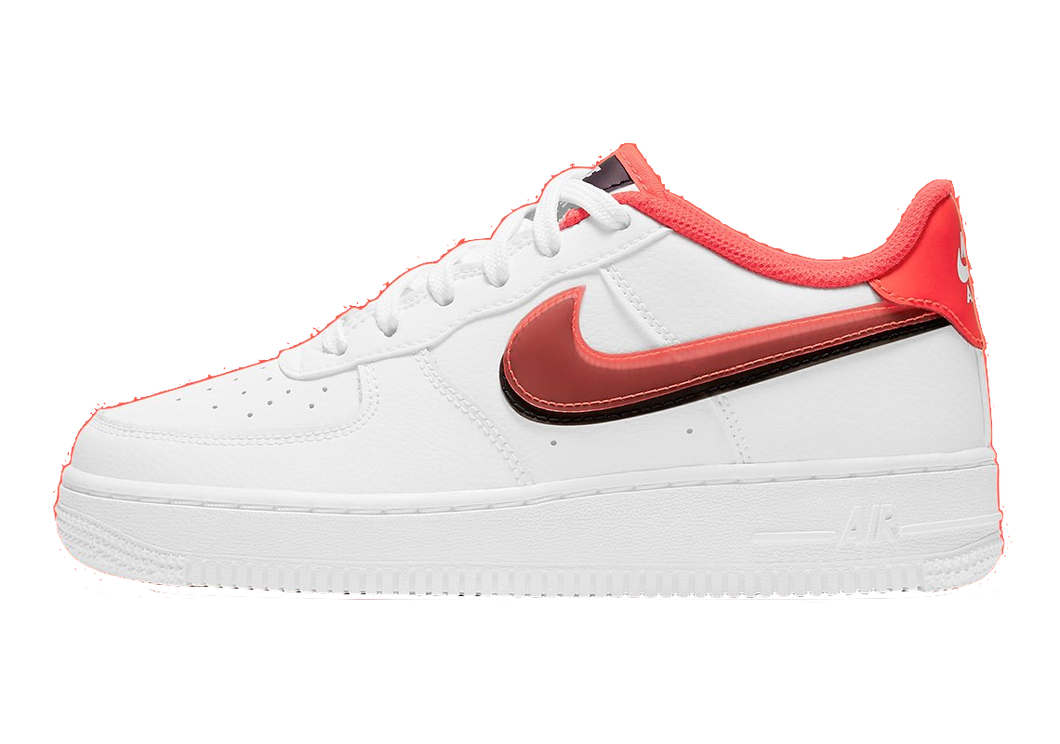 Nike Air Force 1 Low Double Swoosh Bright Red