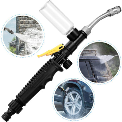 2-in-1 High Pressure Washer 2.0 - Water Jet Nozzle Fan Nozzle Safely Clean High Impact Washing Wand Water Spray Washer Water Gun