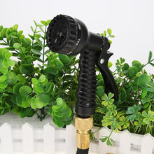 Load image into Gallery viewer, 8 Pattern Plastic Garden Water Gun Hose Nozzle Household Car Washing Yard Water Sprayer Pipe Tube Sprinkler Garden Tool Supplies