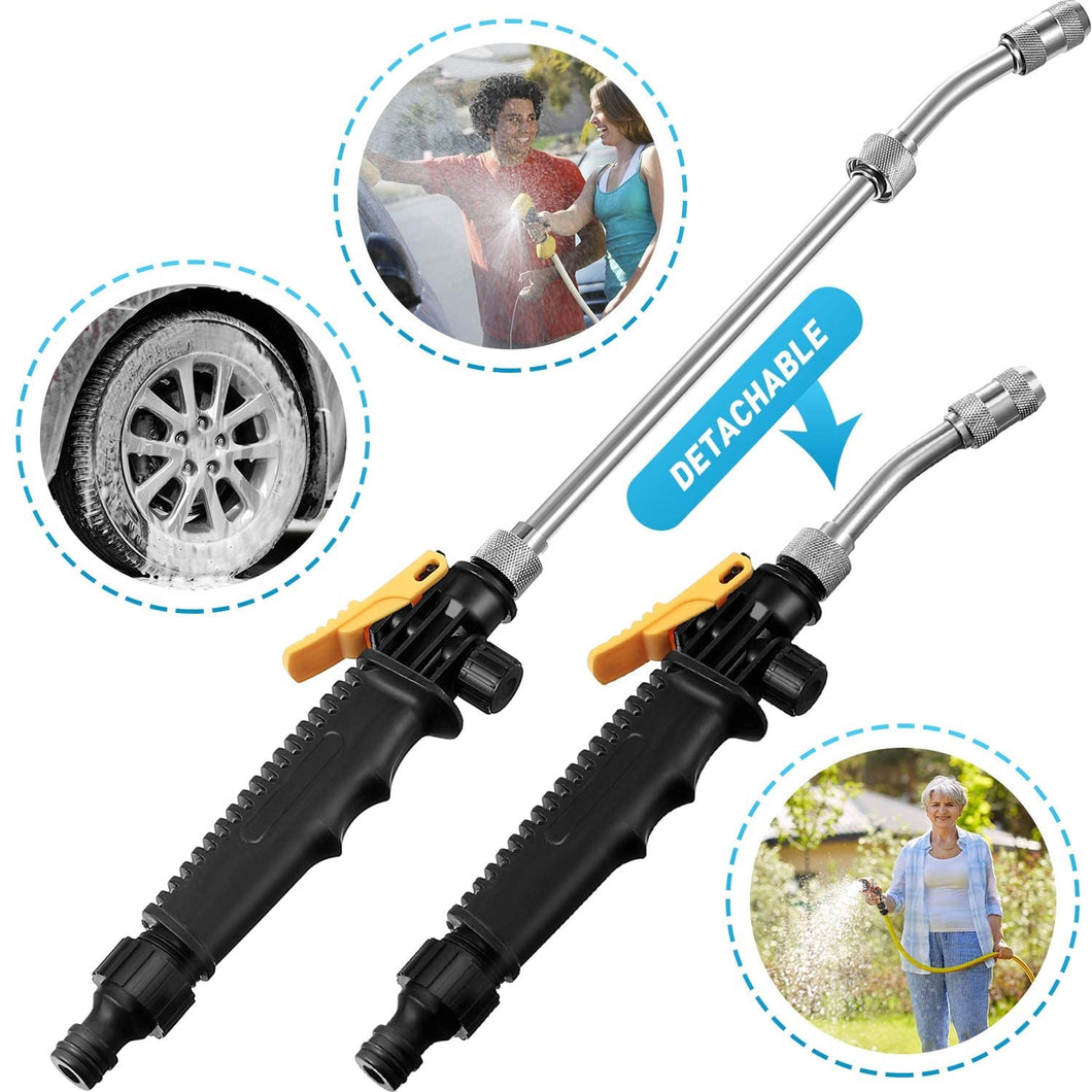 High Pressure Water Gun Washer Garden Hose Nozzle Spray Sprinkler Tools for Car window  washing/ watering flowers