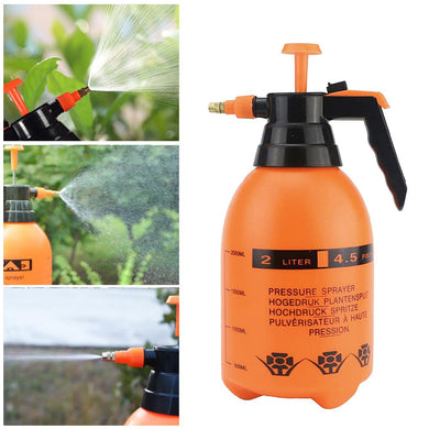 2L High Pressure Garden Spray Bottle Handheld Water Sprayer Home Water Pump Sprayer Adjustable Portable Garden Sprayer