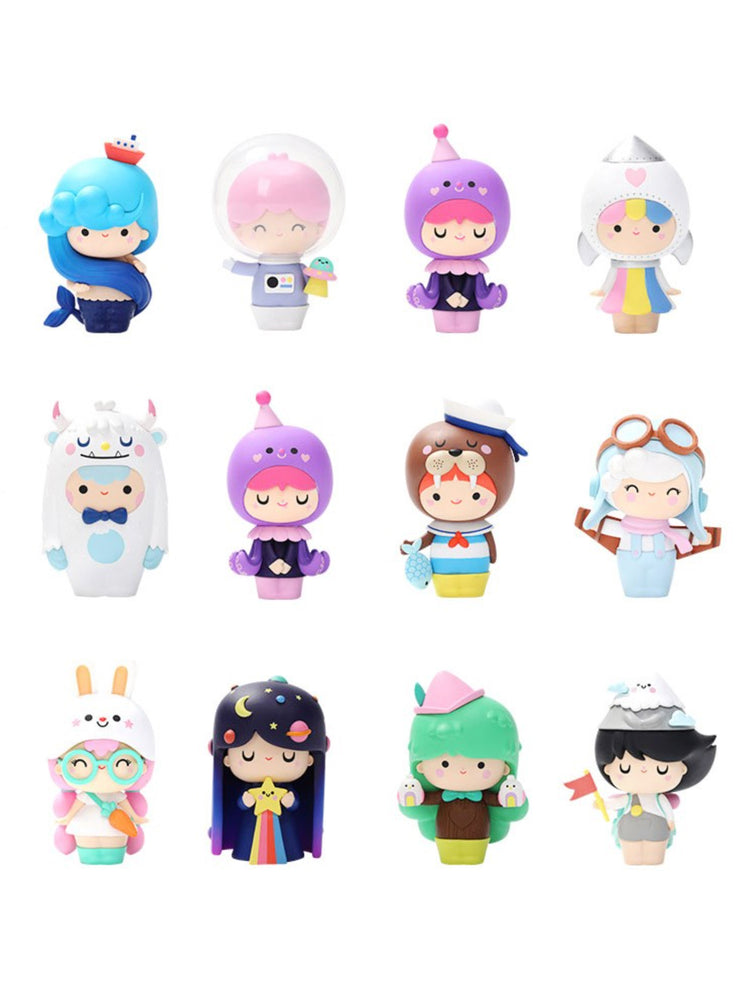 Box of 12 Momiji X Pop Mart Explore