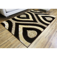 Load image into Gallery viewer, IKASA Rug | Gloria-Shaggy-Brown-Modern-Area-Rug.jpg