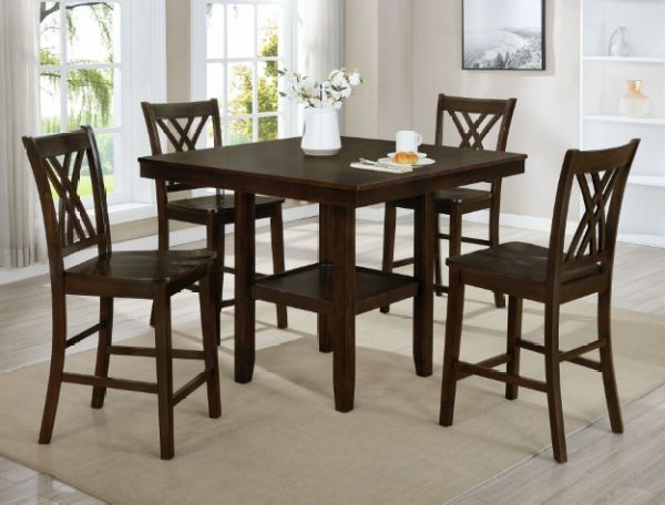 Joseph 5 Piece Counter Height  | Dining Set