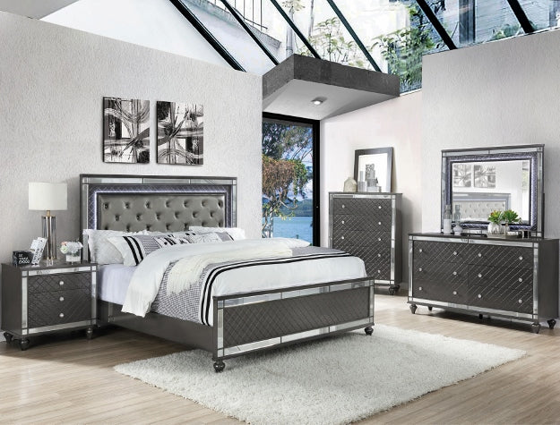 IKASA Bedroom |The Silver | Bedroom Suite | 5 Piece Set