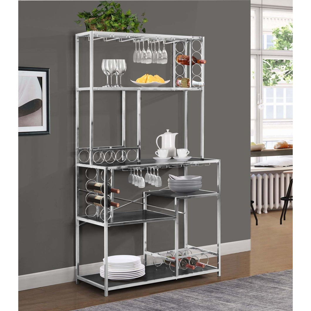 Free Standing Chrome Bar