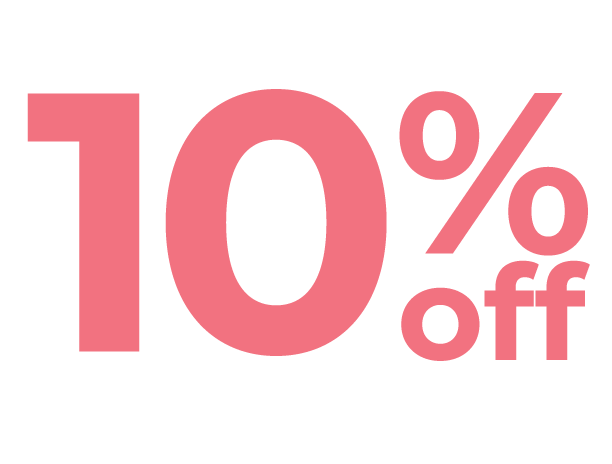 10 % off icon