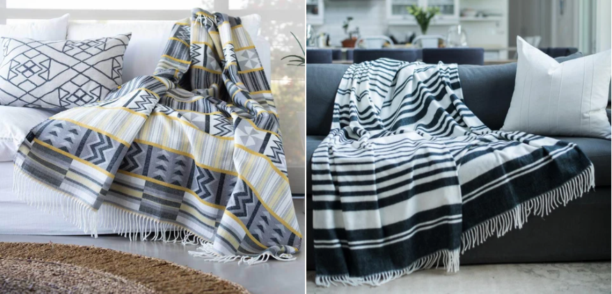 The African throw