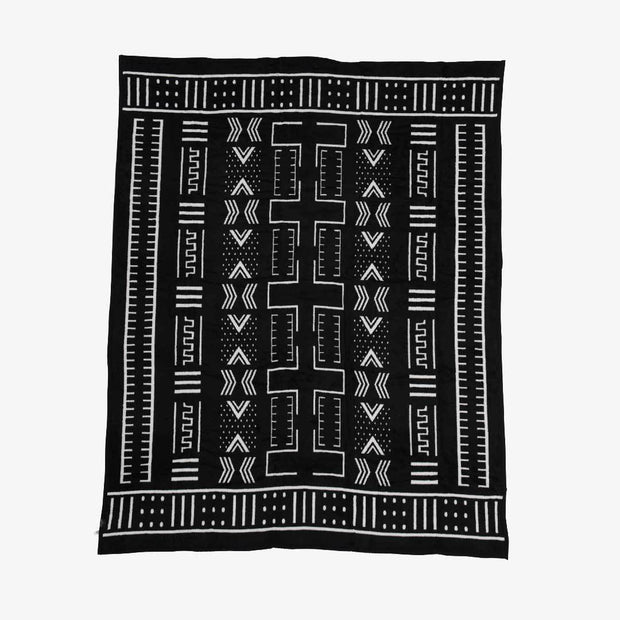 Mali Mud Cloth Blanket 1