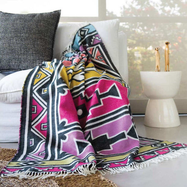 Ndebele Throw 1