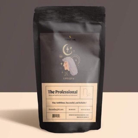 Capricorn: The Professional Zodiac Girl Coffee