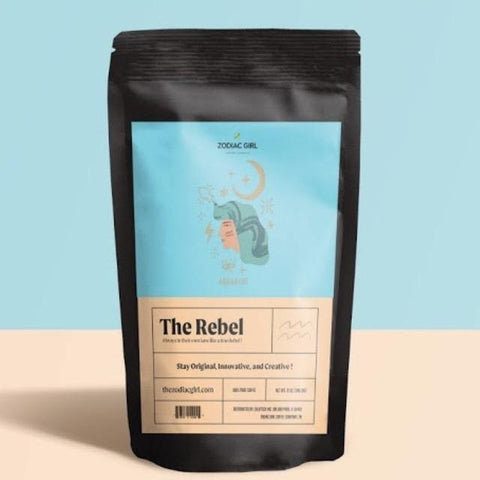 Aquarius: The Rebel Zodiac Girl Coffee