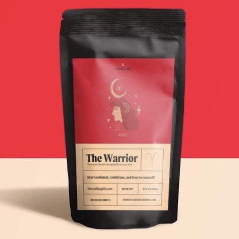 Aries: The Warrior Blend Zodiac Girl Coffee