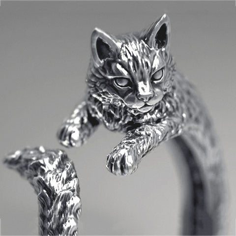 Cat Cocktail Ring