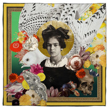 Load image into Gallery viewer, Young Frida Silk Scarf