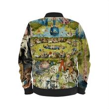 Load image into Gallery viewer, Earthly Delights Women's Bomber Jacket