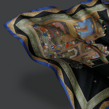 Load image into Gallery viewer, The Mughal Prince Silk Scarf