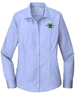 Waxahachie High School | Women's Pinpoint Oxford No-Iron Shirt