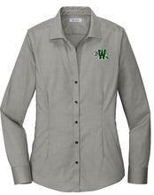 Load image into Gallery viewer, Waxahachie High School | Women's Pinpoint Oxford No-Iron Shirt