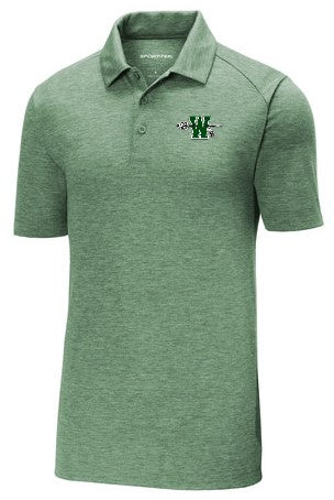 Waxahachie High School | Men's Heather Polo | Green