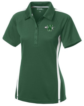 Waxahachie High School | Women's Active Polo | White Striped