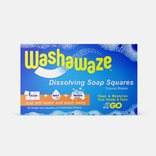 Load image into Gallery viewer, Washawaze Foaming All-in-One Soap Sheets