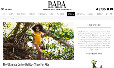 MyBaba coverage for The Little Sunshine Store