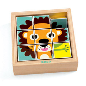 WOOD PUZZLE  BLOCK TOURANIMO