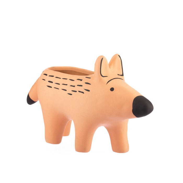 PEACH DINGO PLANTER LARGE - Art of Giving