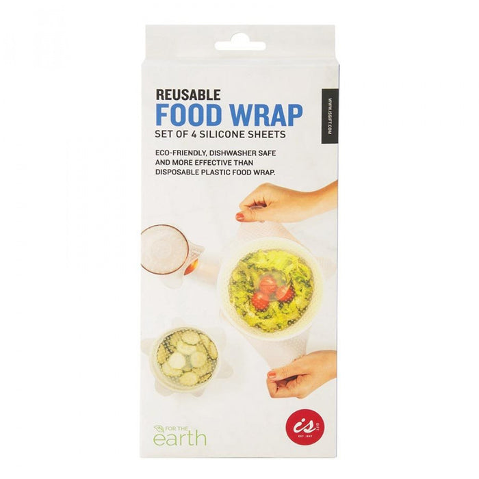REUSABLE FOOD WRAP SET OF 4