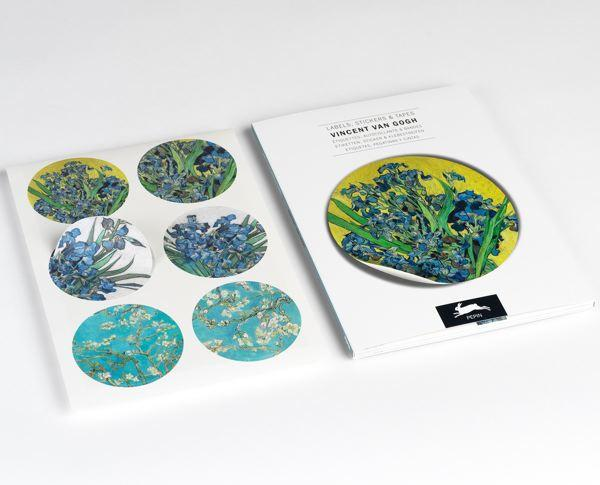 VAN GOGH LABEL AND STICKER BOOK