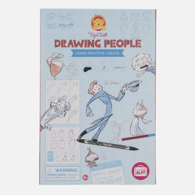 LEARN PRACTICE CREATE DRAWING PEOPLE