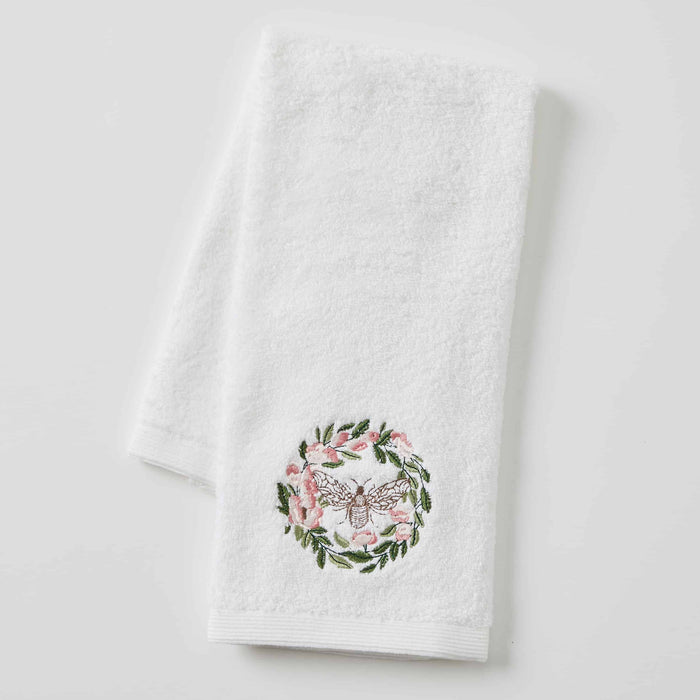 FLORAL BEE HAND TOWEL