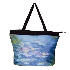 TOTE BAG - MONET WATER LILLIES