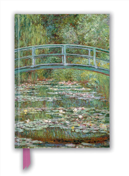 PKT JOURNAL CLAUDE MONET BRIDGE OVER A POND OF WATER LILLIES