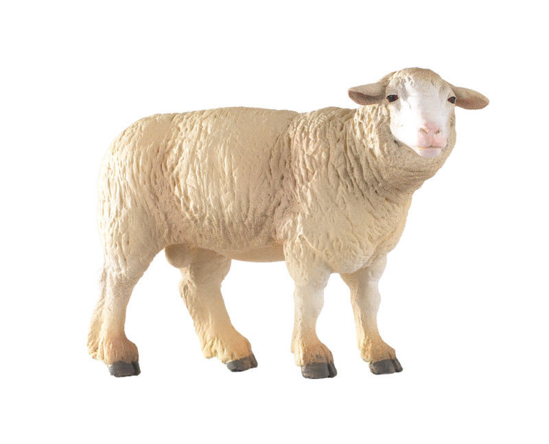 FIGURINE MERINO SHEEP