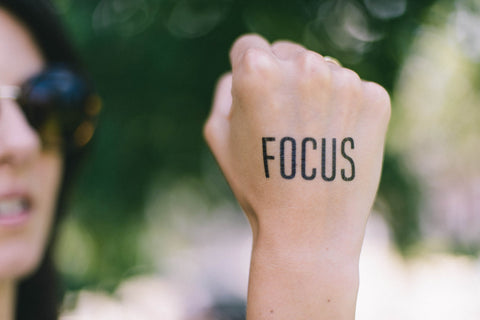The power of using focus to achieve goals