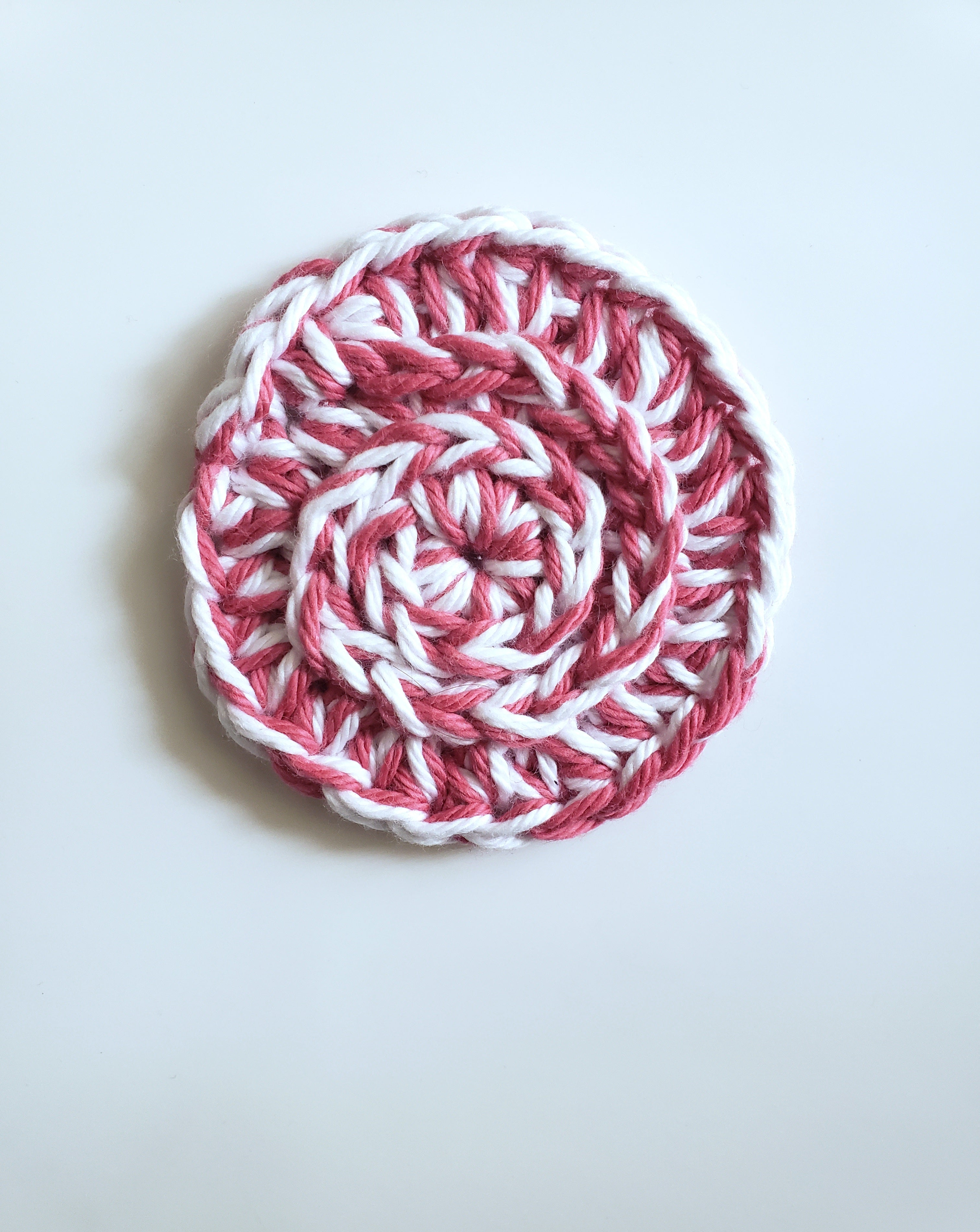 Valentine's Day Reusable Face Scrubbies | Handmade Crochet | Set of 3