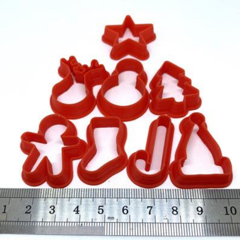 Polymer clay cutters Gilly cutters Easter precious metal PMC and ceramic clay cutters