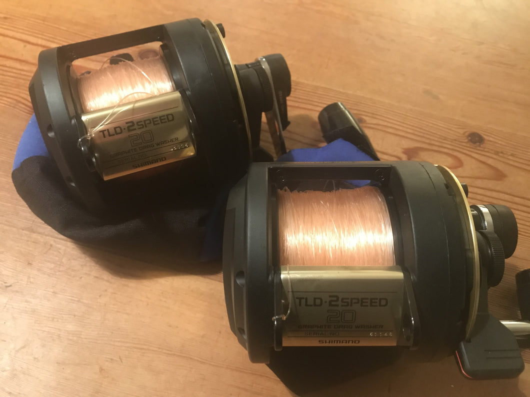 Second Hand Shimano Reels