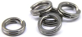 BBGF Stainless Steel Split Rings