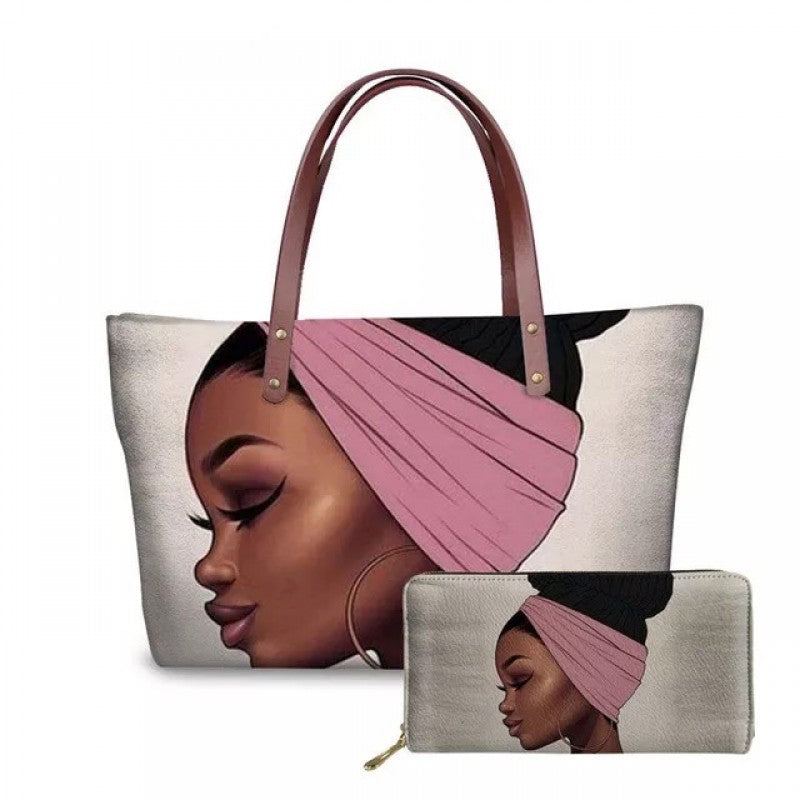 Luxury bun handbag Set