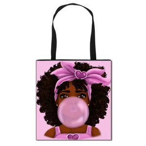 CARTOON TOTE BUBLE