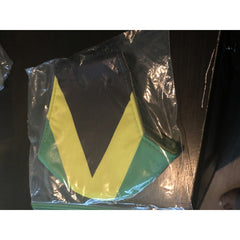 Face mask Jamaican colors